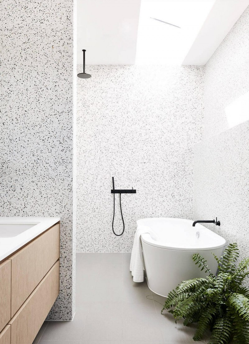 Terrazzo Floor Tiles Bathroom | Floorviews co