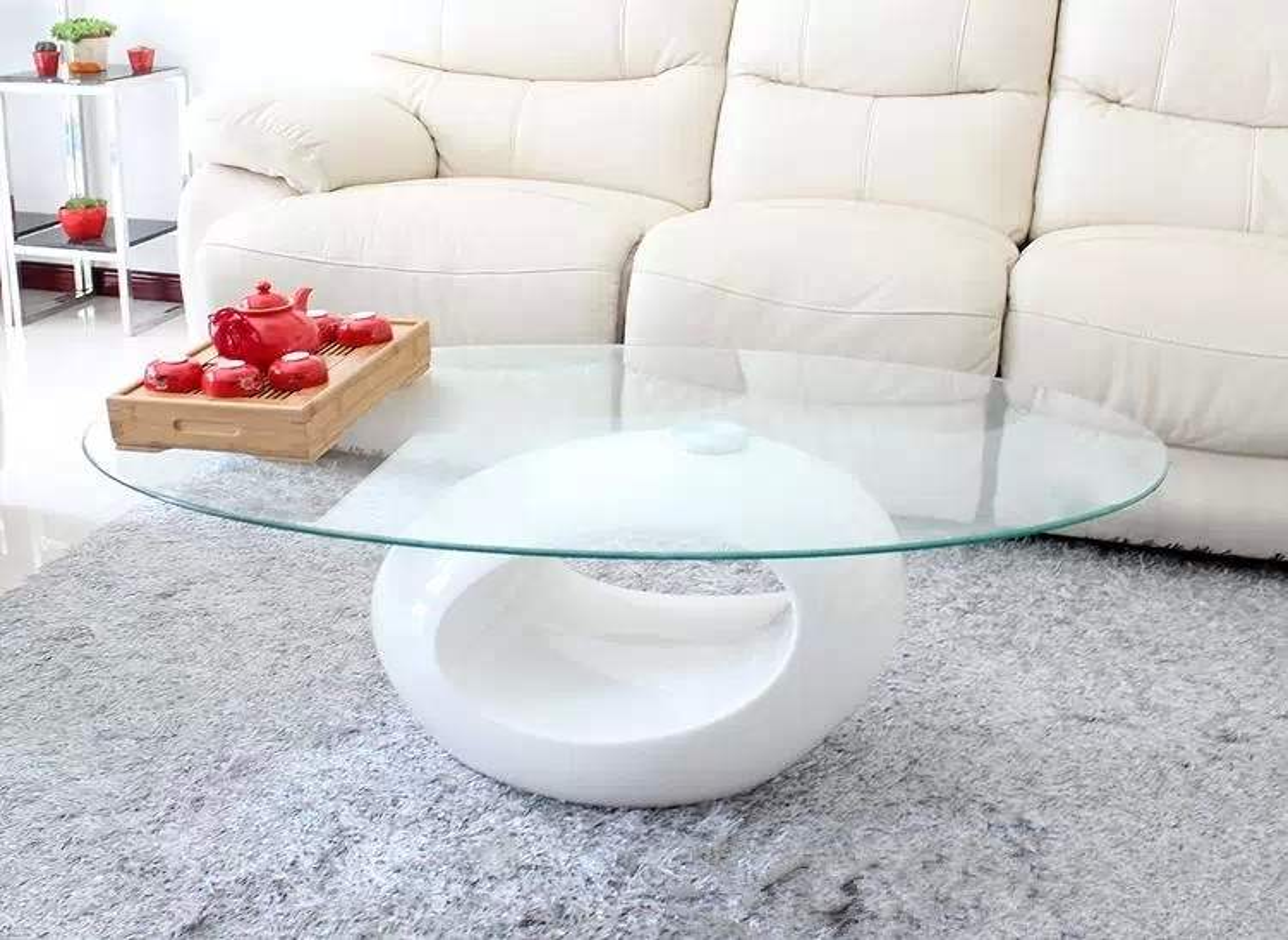Table Basse Verre De Salon