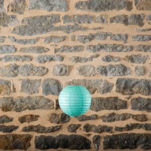 Location-Boule-chinoise-20cm-vert-turquoise-7exemplaires