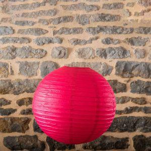 Location-Boule-chinoise-50cm-rose-fushia-7exemplaires