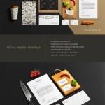 30 Best Restaurant Branding Psd Mockup Templates Decolore Net