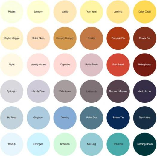 Swatches From Earthborn Paints Which Is Licensed To Carry The Eu Ecolabel Flower Symbol