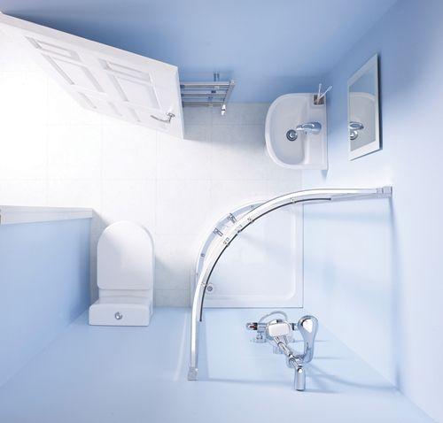 Un cuarto de baño completo en 3m2 | Decomanitas