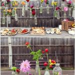 decoracion vintage con vidrio reciclado a