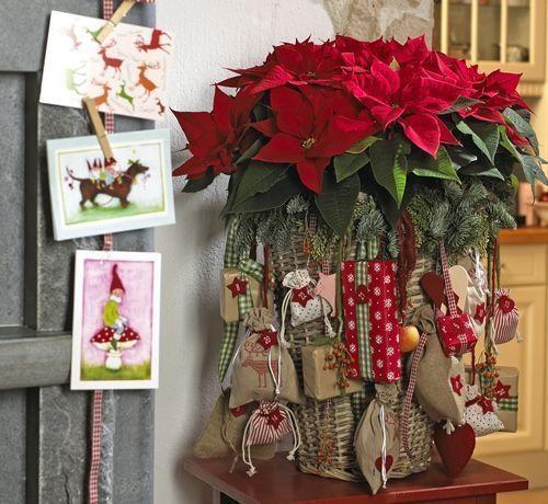 ideas de decoracion rústica navidad 1