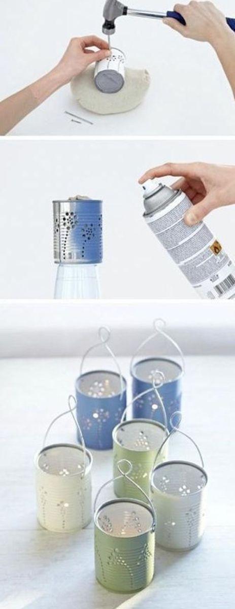 decoracion-rustica-de-navidad-reciclando-latas-de-conservas-2