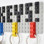Idea para decorar con Lego (y guardar bien las llaves)