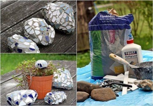 ideas para decorar con piedras 3