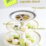 como hacer tu propio cupcake stand