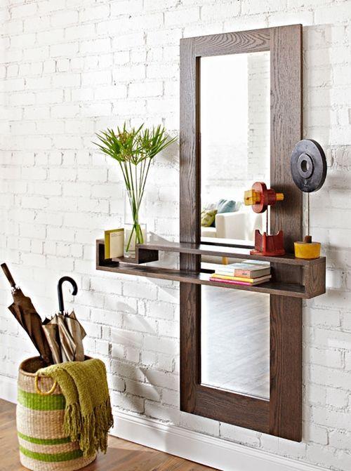 DIY de mueble funcional para decorar la entrada de casa Decomanitas
