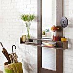 DIY de mueble funcional para decorar la entrada de casa