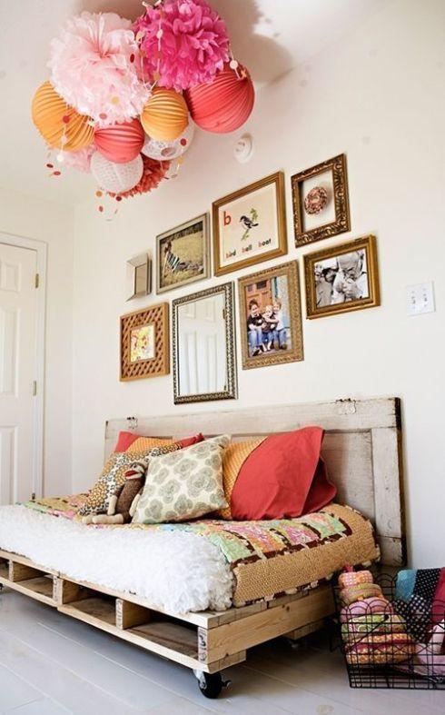 Idea decoración reciclar palés para sofás 1