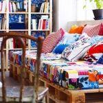 idea decoracion reciclar palés para sofas