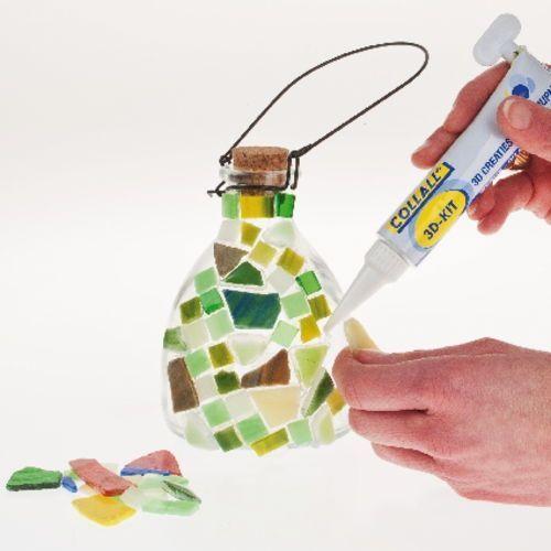 Trabajo fácil para decorar con mosaico 2