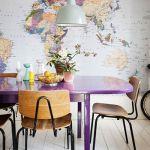 Viejas sillas de colegio para decorar
