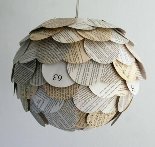 Cómo hacer lámparas con objetos desechables10