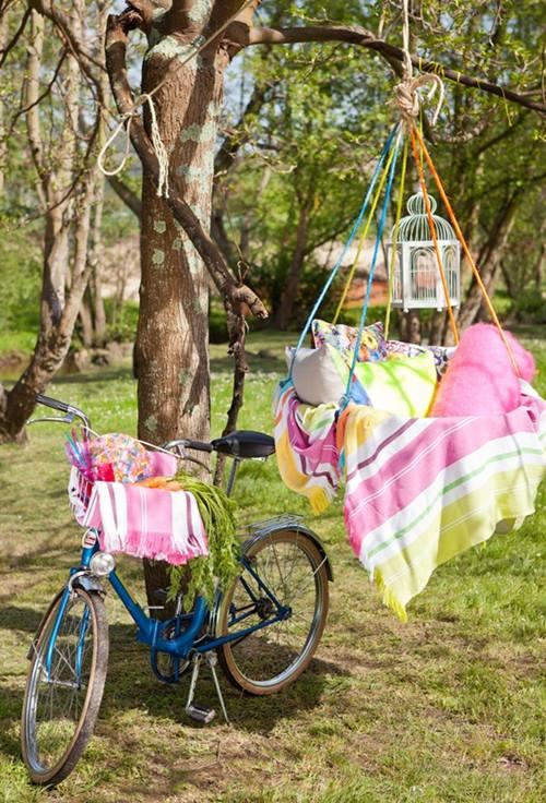 Idea de decoración para exteriores ¡el picnic es tendencia! 5