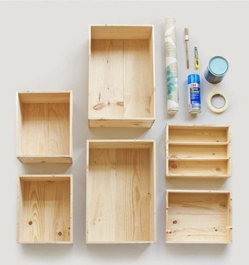 Tutorial cómo decorar con cajas de madera 1