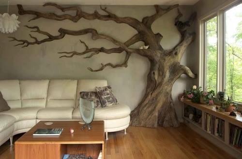 ideas para decorar con ramas secas 16