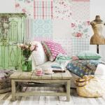 Ideas patchwork para paredes vintage