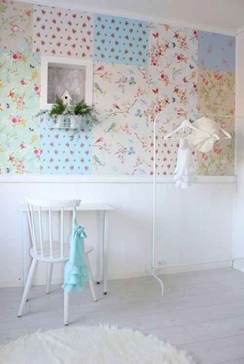 ideas patchwork para paredes vintage 6
