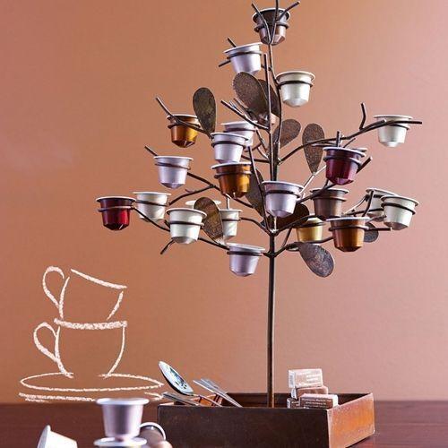reciclar capsulas de Nespresso para decorar 4