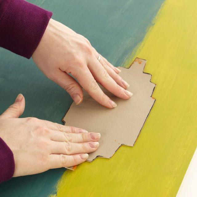 ☆ Decorar paredes a todo color con Ikats ☆ 5