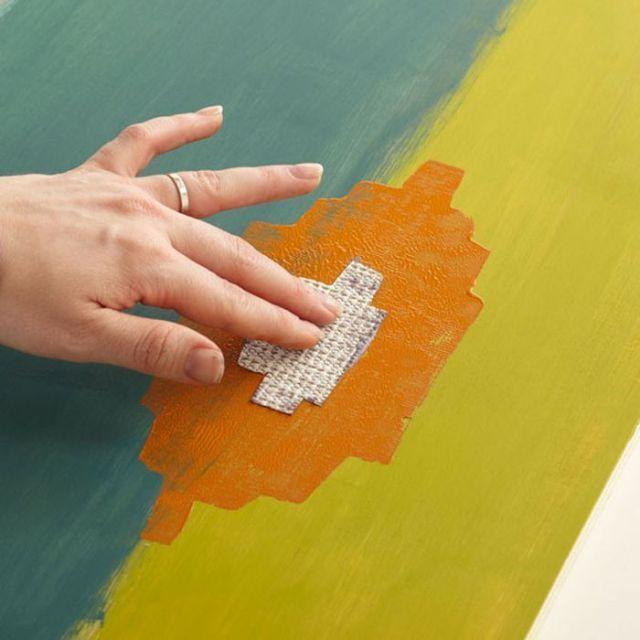 ☆ Decorar paredes a todo color con Ikats ☆ 7