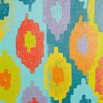 ☆ Decorar paredes a todo color con Ikats ☆ 8