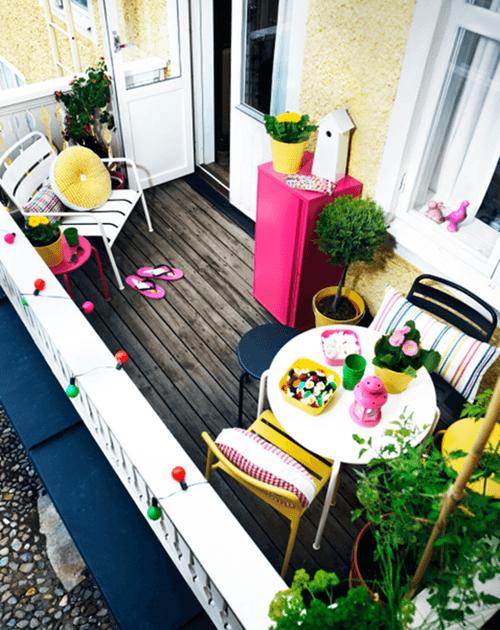 ❀ Ideas para decorar terrazas y balcones ❀  2