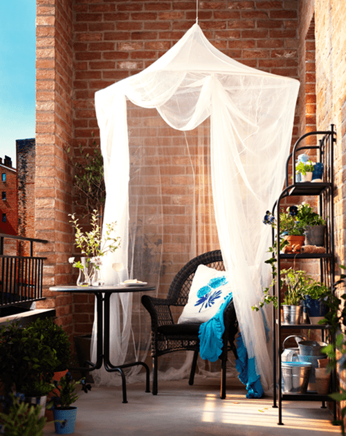 ❀ Ideas para decorar terrazas y balcones ❀ 3