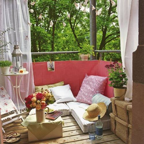 ❀ Ideas para decorar terrazas y balcones   ❀ 5
