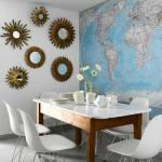 Inspiración para decorar con mapas