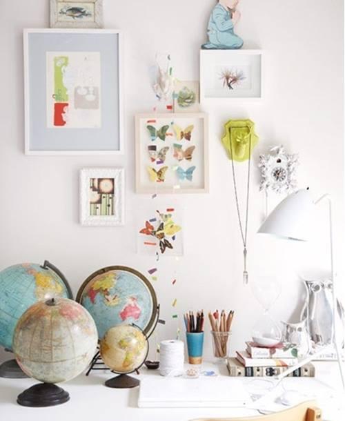 Inspiracion para decorar con mapas 2