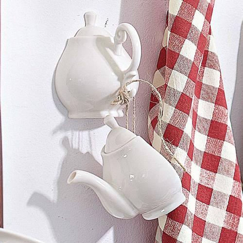 Inusitados usos para teteras de porcelana en decoración vintage 2