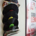 Ideas para decorar con viejos discos de vinilo 2
