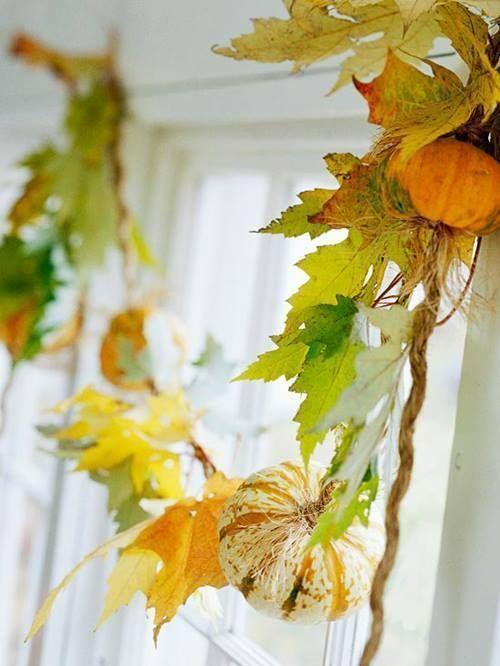 Ideas originales de decoracion para interiores de casas en otoño 1