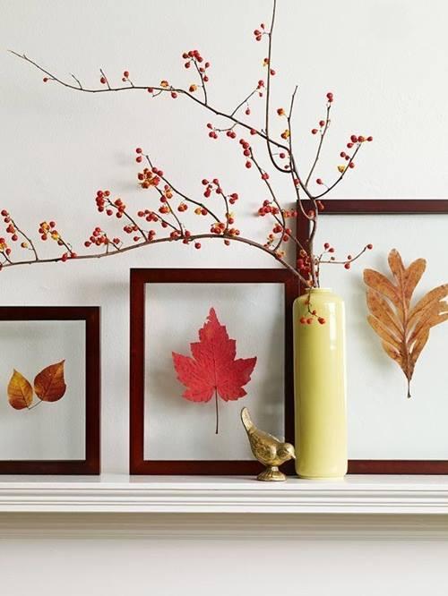 Ideas originales de decoracion para interiores de casas en otoño 3