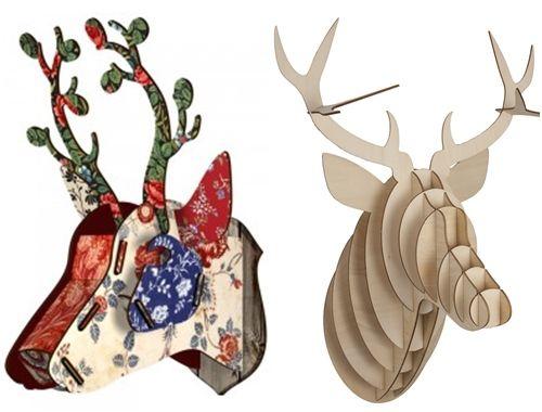 Ideas para decorar paredes con trofeos de caza 8