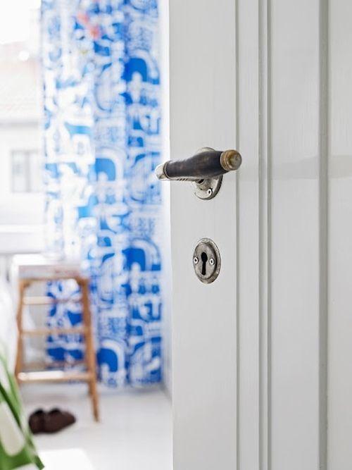 Manillas de dise o puertas interiores con encanto s lo for Manillas puertas ikea