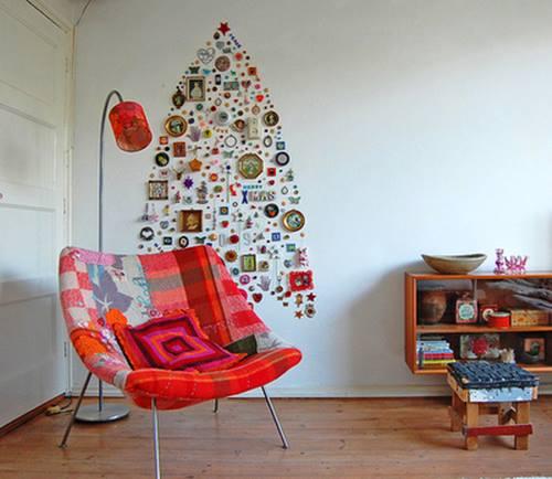 como hacer un arbol de navidad original y alternativo 2