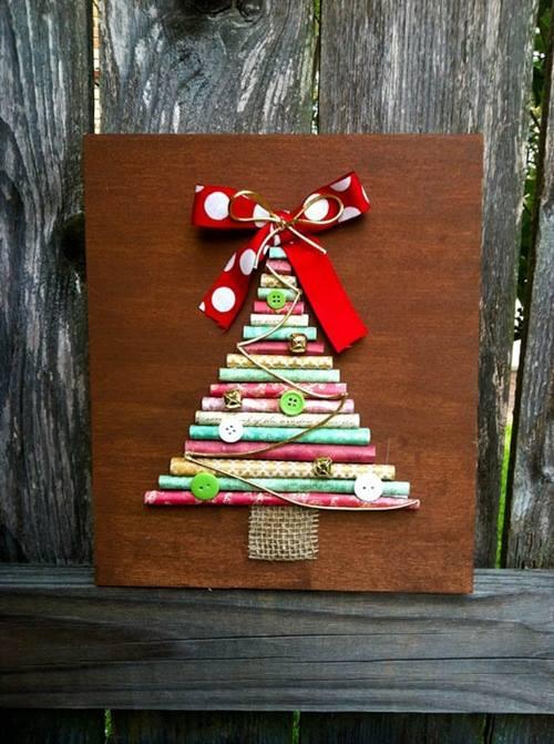 como hacer un arbol de navidad original y alternativo 5