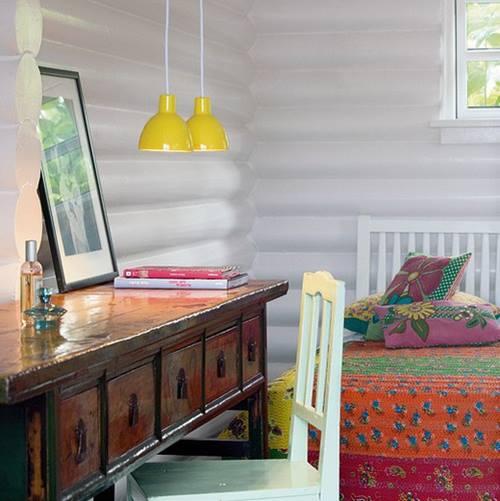 Ideas de decoración vintage con sutiles pinceladas de amarillo 5