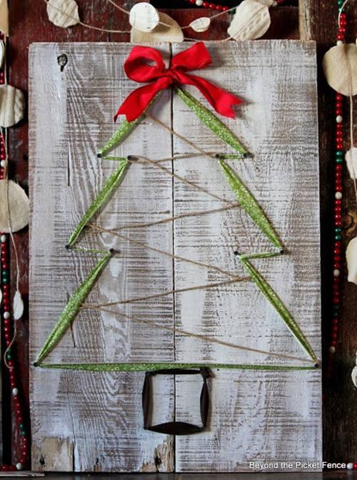 como hacer un arbol de Navidad facil 6