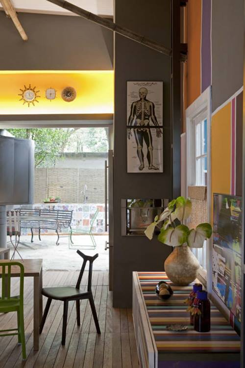 Decoración moderna ejemplar para interiores de casas estudio en Brasil que cautiva... 3