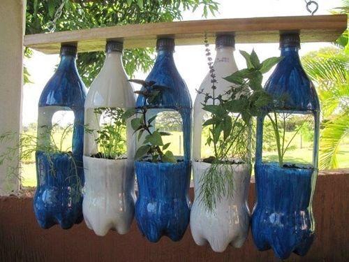 ideas para reciclar en casa y hacer macetas con botellas latas y mucho ms