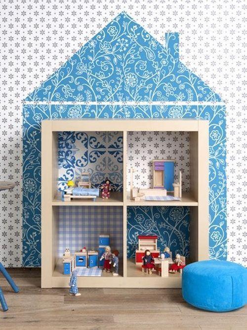 Como transformar muebles de Ikea tunear estanterías Ikea Expedit con palets 4