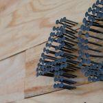 Fachadas de chalets: idea para poner el número de casa