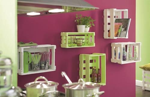 Nuevas ideas para pintar cajas de madera y reutilizarlas for Ideas para pintar el exterior de mi casa