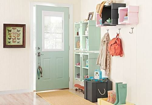 Nuevas ideas para pintar cajas de madera (y reutilizarlas para decorar la casa) 2